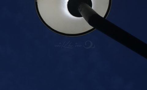 Moon & the lamp
